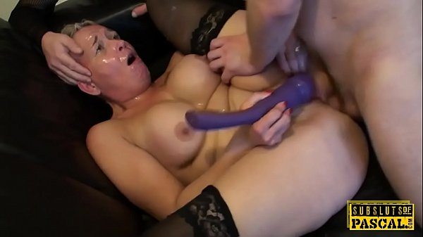 Mature anal, British, In front of
