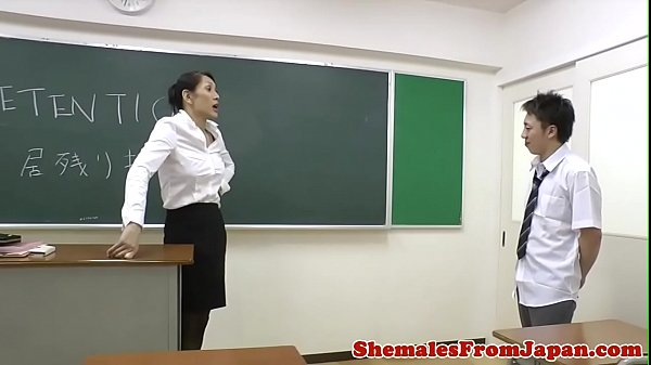 Ladyboy, Japanese teacher