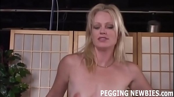 Pegged, Forced anal, Strapon, Pegging