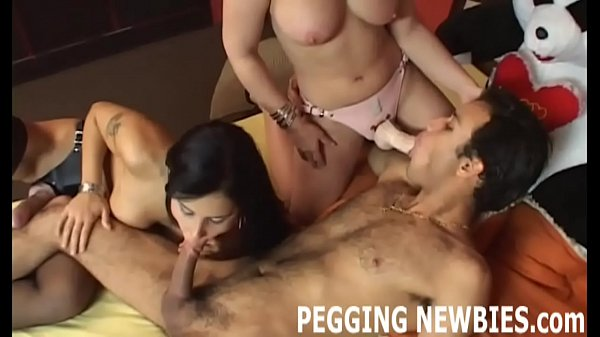 Pegged, Strapon, Pegging, Forced anal