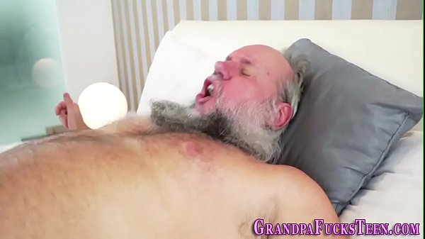 Old man, Blowjob
