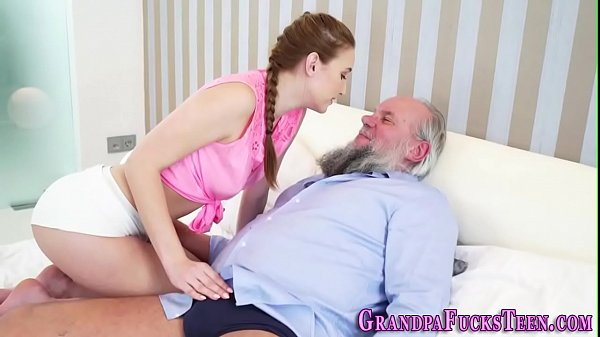 Blowjob, Old&young, Old man