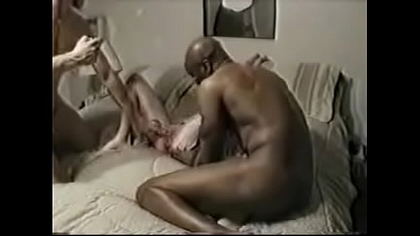 Threesome, Anal interracial