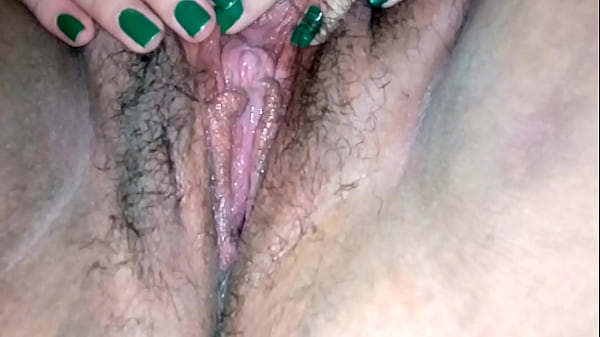 Hairy solo, Hairy pussy solo, Touching